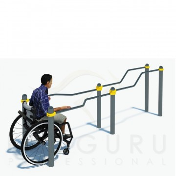 P-017 Multi-height, multi-width parallel bars