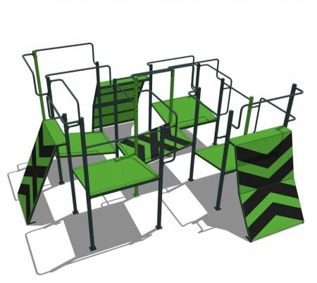 Trening ute - Parkour
