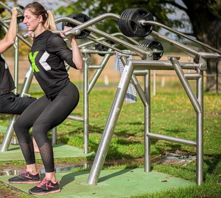 Trening ute - Med vekter