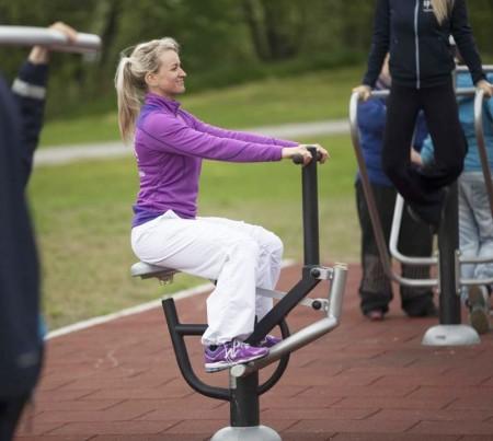 Underlag til treningspark